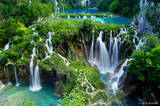 Plitvice Waterfalls print