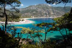 Ölüdeniz, Mediterranean Sea, Turkey, turquoise, water, lagoon, oludeniz, mediterranean, sea, paradise, beach