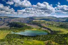 Wall Lake, Trappers Peak, Flattops, Colorado