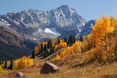 Capitol Peak, Elk Mountains, Colorado, autumn, Maroon Bells-Snowmass Wilderness
