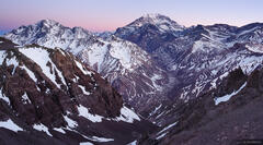 Aconcagua, Andes, Argentina, Rio Horcones