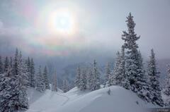 snowbow, San Juan Mountains, Colorado, Red Mountain Pass