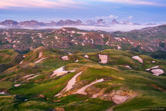 Colorado,Grenadier Range,San Juan Mountains,Stony Pass,Weminuche Wilderness, tundra, July