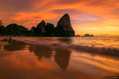 Railay, Thailand, Andaman Sea, beach