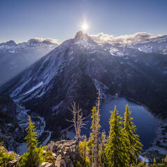 Alpine Lakes Wilderness, Bears Breast Mtn, Shovel Lake, Washington, Cascades