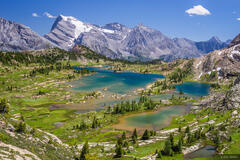 British Columbia, Canada, Canadian Rockies, Height of the Rockies, Limestone Lakes, BC