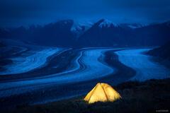Tent Over Kaskawulsh