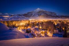 Colorado, Crested Butte, winter, January