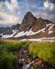 Colorado, Gore Range, Peak C, Eagles Nest Wilderness
