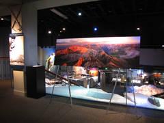 Exhibit at Bradford Washburn American Mountaineering Museum