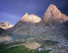 Sulphur Peak, Stroud Peak, Peak Lake, Wind River Range, Wyoming
