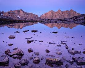 Mount Eolus, reflection, Needle Mountains, Colorado