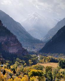 Ouray, Mt. Abrams, autumn, Colorado