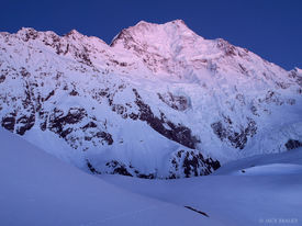 Aoraki, Mt Cook, Caroline Glacier, New Zealand