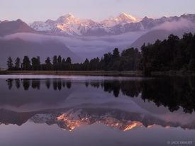 Lake Matheson, Tasman, Cook, West Coast, Fox Glacier, New Zealand