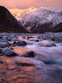 Waimakariri River, Arthur's Pass, New Zealand