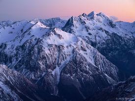 Mt. Campbell, Carrington Peak, Arthur's Pass, New Zealand
