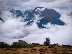 Murchison Mountains, Luxmore Hut, Kepler Track, New Zealand