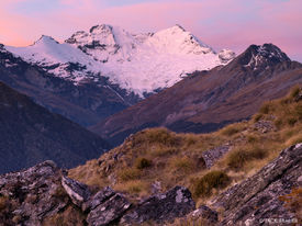Mount Earnslaw, Mt. Aspiring, National Park, New Zealand