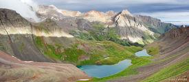 Blue Lakes, Blue Lakes Pass, San Juan Mountains, Colorado