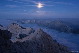 Zugspitze Moonlight
