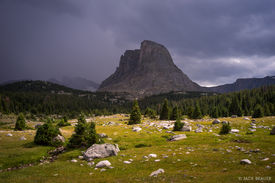 Buffalo Head,Wind River Range,Wyoming, storm