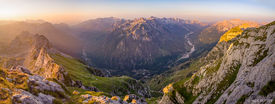 Sunrise Above Valbona