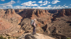 Dark Canyon Hiker