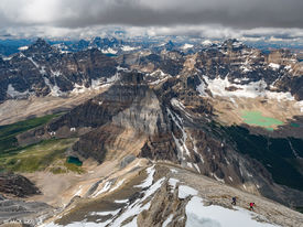 Dayhiking in Banff National Park, Canadian Rockies-July 2016