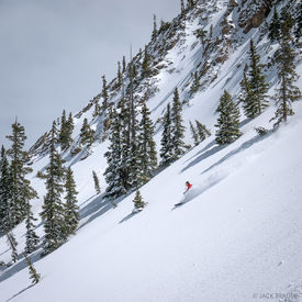 Third Bowl, Crested Butte, Colorado, skiing, April
