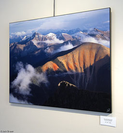 Sultan Mountain, print