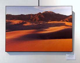 Orange Dunes, print