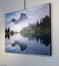 Misty Teton Reflection, print