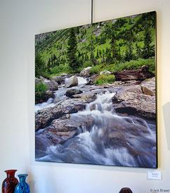 Tetons Cascade Creek, print