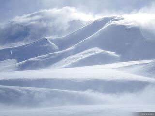 windblown, powder, snow, Argentina, Las Leñas