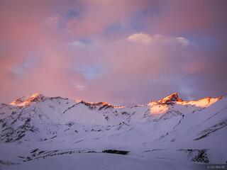 Las Leñas Alpenglow