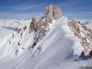 Cerro Torresillas, Argentina, Las Leñas