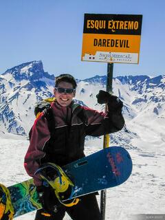 esqui extremo, Argentina, snowboarding, Las Leñas