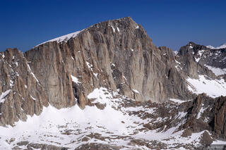 Mt. Whitney, Mt. Irvine, Sierra Nevada, California