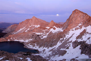 Sawtooth Peak, twilight, Sierra Nevada, California, Sequoia National Park