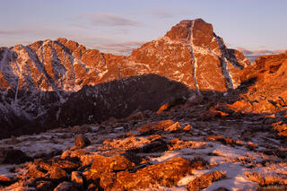Mount of the Holy Cross, Sawatch Range, Colorado, sunrise