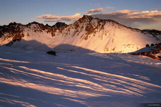 Snow Peak, Gore Range, Colorado, Vail, sunset, Eagles Nest Wilderness