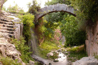 Samandag, Roman Arch, Turkey