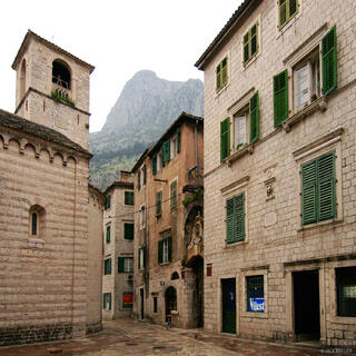 Kotor, walled city, Montenegro