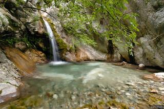 Kotor, waterfall, Montenegro