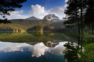 Medjed, Crno Jezero, reflection, Durmitor National Park, Montenegro
