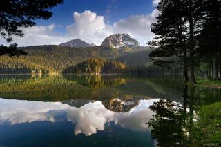 Medjed, Crno Jezero, reflection, Durmitor National Park, Montenegro