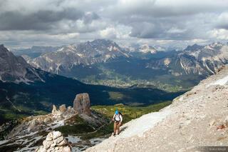 Dolomites, Europe, Italy, Averau, hiking, Alps