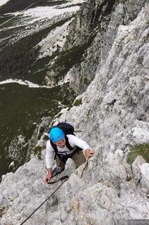 Fiámes, via ferrata, Dolomites, Italy, Cortina, climbing