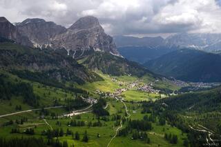 Sassongher, Corvara, Dolomites, Italy